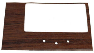 Console Insert For 1968 Chevrolet Camaro 4 Speed Shifter Woodgrain Made In Usa