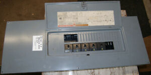 Square D Q0 42 slot 3 4 Wire Breaker Panel Used