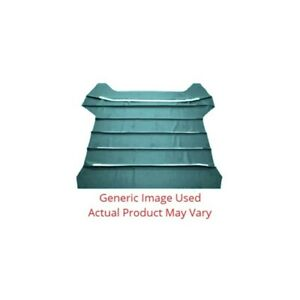 Headliner Sunvisor Material Aqua Yards Star