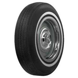 Coker Firestone 7 8 White Wall Bias Tire 775 15