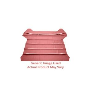 Headliner sunvisor Material For Automotive Car And Truck 2dr Ribbed Red