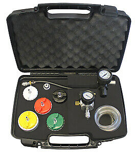 Mastercool 43306 Heavy Duty Truck Cooling System Pressure Test Kit Brand New