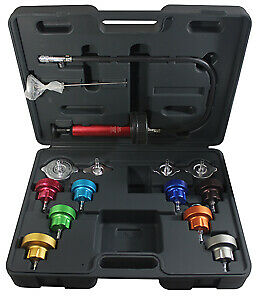 Mastercool 43300 14 Pc Cooling System Pressure Test Kit Brand New