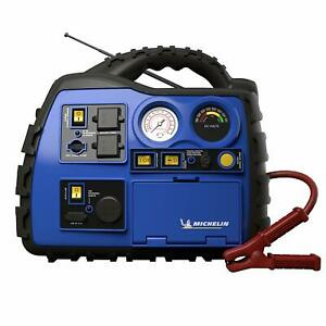 Michelin Ml0728 Power Source Xr1 Portable 1000 Amps Jump Starter With Air Com