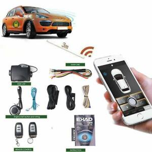 Universal Remote Start For Car Engine Keyless Entry Pke Automatic Central Loc