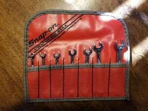 Snap On Metric Midget Combination Wrench Set 4 9 Mm In Kit Bag C700