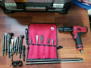 Mac Tools Air Hammer Mph1931 1 2 Reversible Air Drill Ad590 With Extras