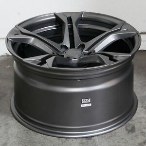 20x10 Gun Metal Wheel Mrr M017 Flow Forge Fit Camaro 5x120 23 1