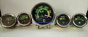 Mf Massey Ferguson Tractor 230 235 240 245 250 253 255 Ind 20d Gauges Kit