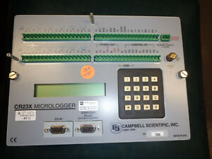Campbell Scientific Cr23x Compact Micrologger Data Logger Tested