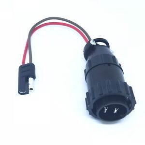 Bentley Continental 03 11 Sae Adapter For Battery Charger Die Hard Schumacher