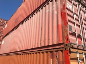 20 Shipping Containers In Certified Cargo Worthy Condition