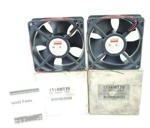 Lot Of 2 Nib Dayton 4wt39 Dc Axial Fans 24 Volt 704 Watt 3000rpm 31 Amp