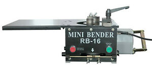 Bm Brand Rb16 Rebar Bender 5 8 16mm Hydraulic Electric 1200w Tabletop