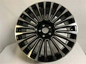 Set Of Four 22 Black Machine Face Ms Style Wheels Fits Land Rover Range Rover