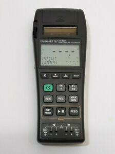 Omega Hh500 2 Channel Datalogger Thermocouple Thermometer W Printer