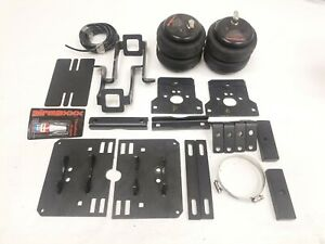 Air Bag Suspension Helper Spring Kit Bolts On 05 10 Ford F250 F350 4x4 Over Load