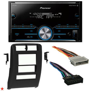 1997 2001 Jeep Cherokee Double Din Car Stereo Installation Dash Kit Bezel 48