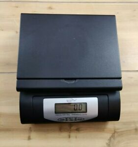 Weigh Max 55lb Digital Postal Scale W 4819 Black Shipping Scale