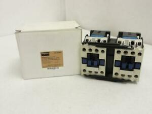 143266 New In Box Dayton 2uxn7 Reversing Contactor 18a 3p 600v Max Coil 240v
