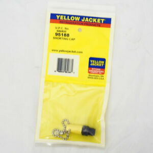 Yellow Jacket 95188 Shorting Cap For Umbilical Cord