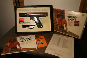 Vintage Sun Inductive Automotive Timing Light Vtg W Original Packaging Low Use