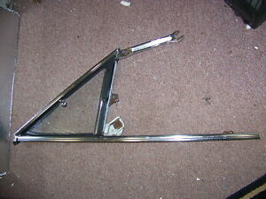 1966 Plymouth Satellite Rh Wing Window Assembly 2570860 1967 Belvedere Gtx