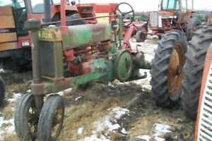 Unstyled John Deere A Tractor Sn 426942