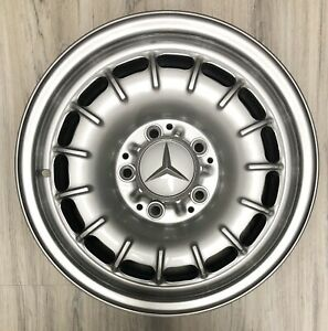 Mercedes Benz R107 W108 W109 W116 14 X 6 5 Reconditioned 15 slot Factory Wheel