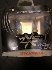 Fog Light Bulb Zxe 9145 Front Sylvania 9145sz bp2