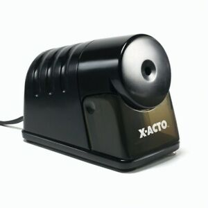 Electric Pencil Sharpener 4 x8 1 4 x6 Black