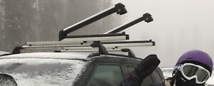 Ski Snowboard Roof Mounted Carrier Rack Fits For Range Rover Evoque 2011 2019