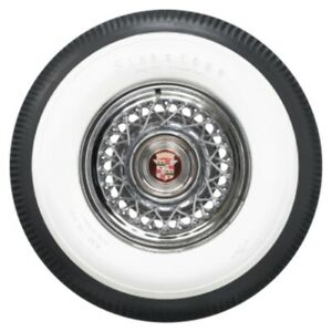 Coker Firestone 4 1 4 Inch White Wall Bias Tire 820 15