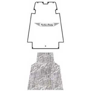 Hood Insulation Pad Cover For 1957 58 Austin Healey Acoustihood With Ah 05 Wing