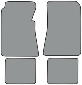 Floor Mat For 1955 1956 Ford Victoria fm80f Fm18r Loop 4pc