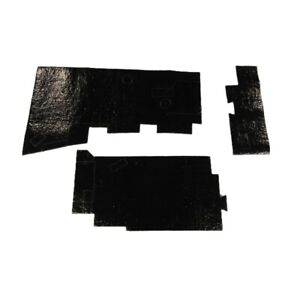 Under Dash Insulation 3pc For 1968 1972 Chevrolet Chevelle Mastic Jute Usa Made