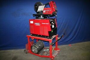 1 Used Lincoln Electric 455m Power Wave Multi Process Welder 17223