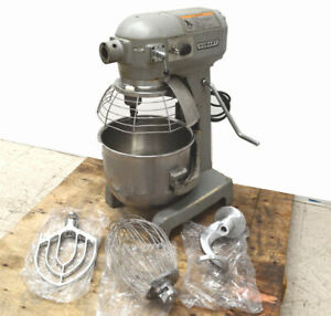 Hobart A 200t 20 qt Commercial Mixer Bowl lift Bowl New paddle hook whisk