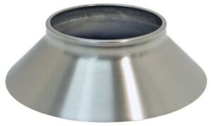 1966 Corvette Cone aluminum Knock Off Wheel stainless Steel brushed Finish Each