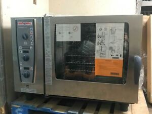 New Rational Cmp62g 6 Grid Combimaster Plus 2 1gn Natural Gas Combination Oven