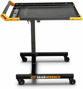 Gearwrench 83166 Adjustable Height Mobile Work Table 35 To 48