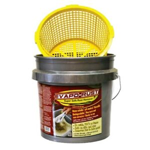 Evapo rust Rust Remover With Bucket And Strainer 3 5 Gallon Evaer018 Brand New