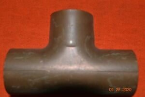 Copper Tee 1 1 8 Nibco Wrought Pressure Tube T Sweat Fitting New few May Be Epc