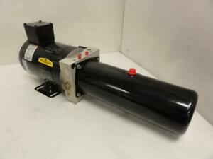 171632 Old stock Asi Technologies S204t 5024 Hydraulic Power Pack 208 230 460