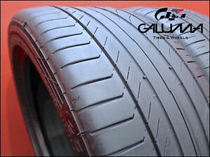 2 Two Nice Tires Continental 255 40 18 Contisportcontact 5 Runflat Nopatch 51820
