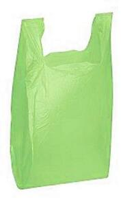 Plastic Bags Grocery T shirt 1000 Lime Green Shopping Merchandise 11 X 6 X 21