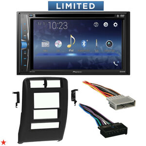 1997 2001 Jeep Cherokee Double Din Car Stereo Installation Dash Kit Bezel 59