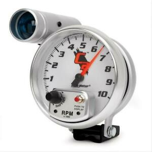 Autometer C2 Shift lite Tachometer 0 10 000 5 Dia White luminescent Blue Face