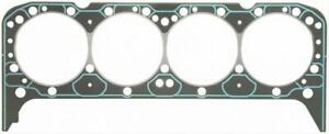 Two 2 Fel Pro Head Gaskets Composition Type 4 166 Bore 041 Comp Sbc
