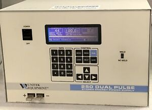 Miyachi Unitek 250 Dual Pulse Stored Energy Power Supply With 4 month Warranty